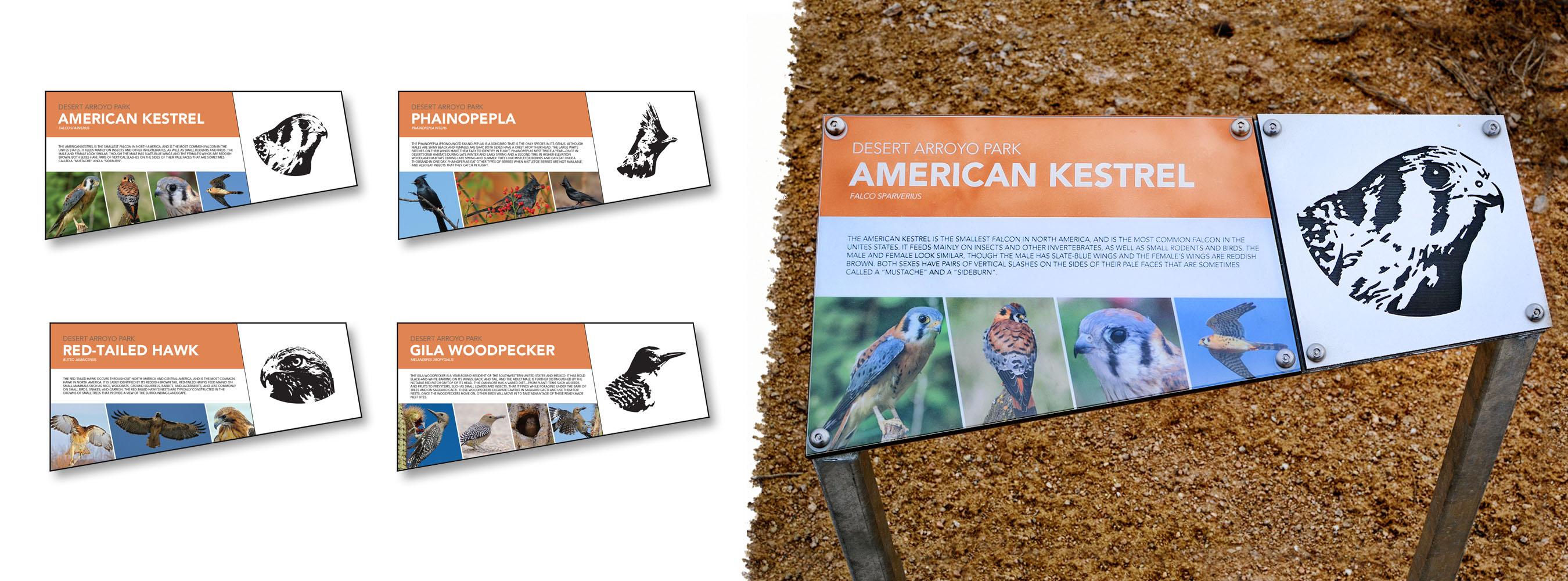 Avian signage